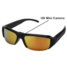 Factory Supply Camera Surveillance 1920 x 1080 Full HD Video Motorcycle Riding Glasses Sunglasses Camera
