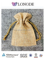 small jute drawstring bag wholesale