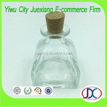 50ml Glass Aroma and Reed Diffuser Bottle with cork