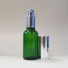 1oz 30ml natural green color spray glass bottle for essential oil