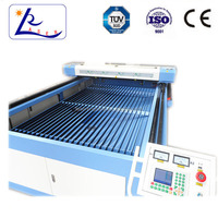 100W co2 double heads , leather craft laser cutting machine
