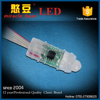 wholesale 12mm 5V 12V digital rgb led module IP68 rgb pixel node light