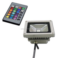 alibaba express 10w led rgb flood light with remote controller