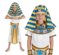 Boys Egyptian King Pharaoh Tutankhamun Fancy Dress Costumes BC14164