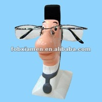 resin doctor eyeglasses stand statue