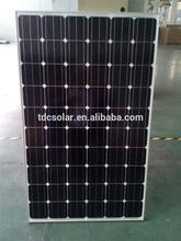 Professional High Transmission cheap monocrystalline solar panel China manufacturer