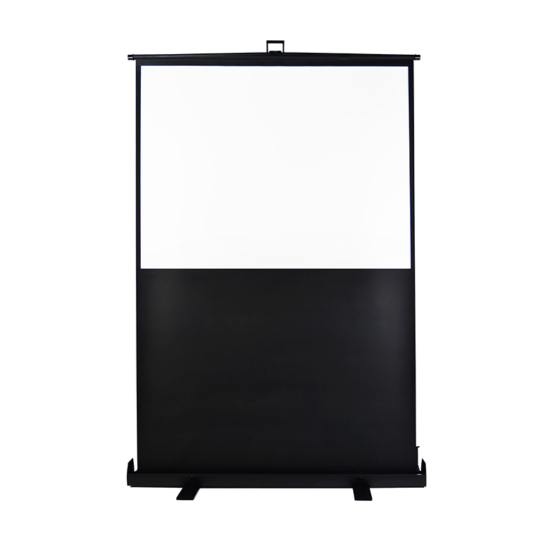 Newest Portable Floor standing indoor/outdoor 3D Projector Screen