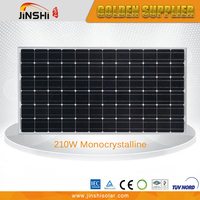 210W High Efficiency CE TUV Certificated Monocrystalline Buy Solar Panel In China