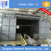 Blasting Booth/Room/Chamber/Equipment with Shot Recovery System and Dust Filter System