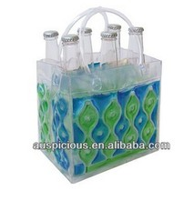 Waterproof 6 bottle wine cooler tote bag