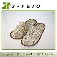 Wholesale women slipper shoes,disposable spa slipper