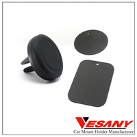 Vesany Funny Novelty strong magnetic Crafted Sticky mini magnetic cell phone air vent car holder