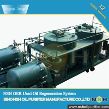 NSH Waste Gasoline engine oil reconditioning/ Black oil treatment/Diesel Oil Recovery Plant