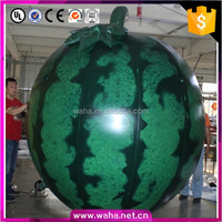 Advertising inflatable fruit watermelon replicas model for sale