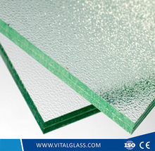 Patterned Laminated Glass for Shutter Proof Decoration