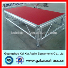 portable mobile dance decent stage for outdoor events with good quality