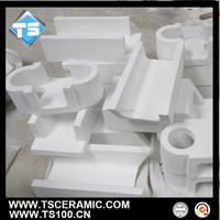 Low Price Ceramic Launder Ceramic Filter Box For Molten Aluminum