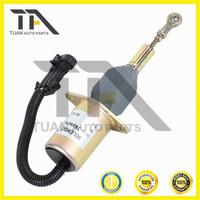 Diesel Fuel Shut Off Solenoid Valve 3939019 SA-4889-24 3939018 SA-4889-12 Cumins 6CT 12V 24V