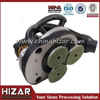 3 Head stone Polishing Machine, mini electric polisher, power tools