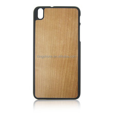 Wood custom Grain Mobile Phone Case for HTC 816, PC bottom phone Case for HTC 816