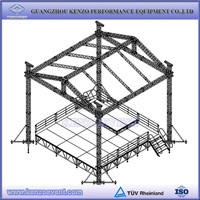 Aluminum Roof Truss System with Portable Stage for Sale
