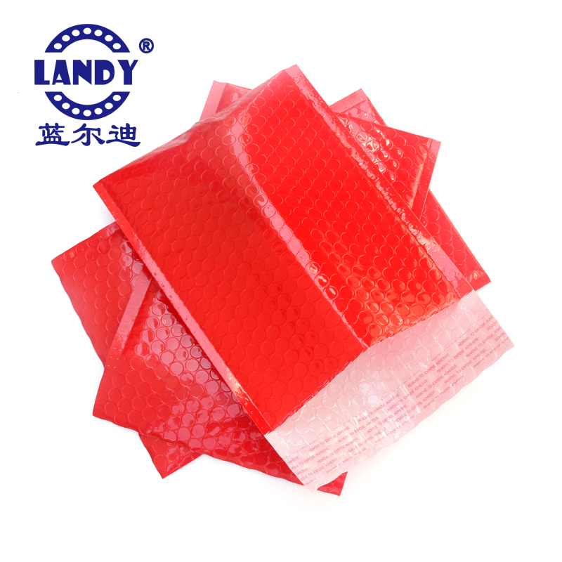 wholesale red poly mailing bags with Self-adhesive poly bubble envelopes