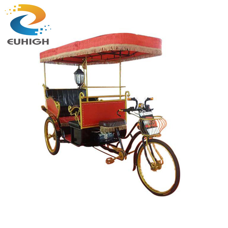 Luxury electric motor tricycle e rickshaw