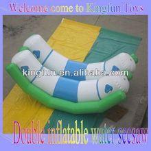 4 Kids inflatable water seesaw/aqua park game