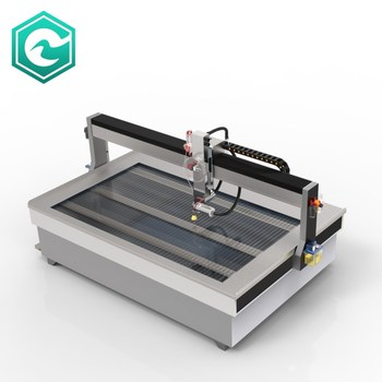 High Pressure 5 axis 3D Water Jet Cutting Machine Water Jet for Stone Cutting