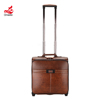 business pu leather sky travel pilot bag