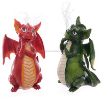 15.5cm Cute Dragon Incense Burner