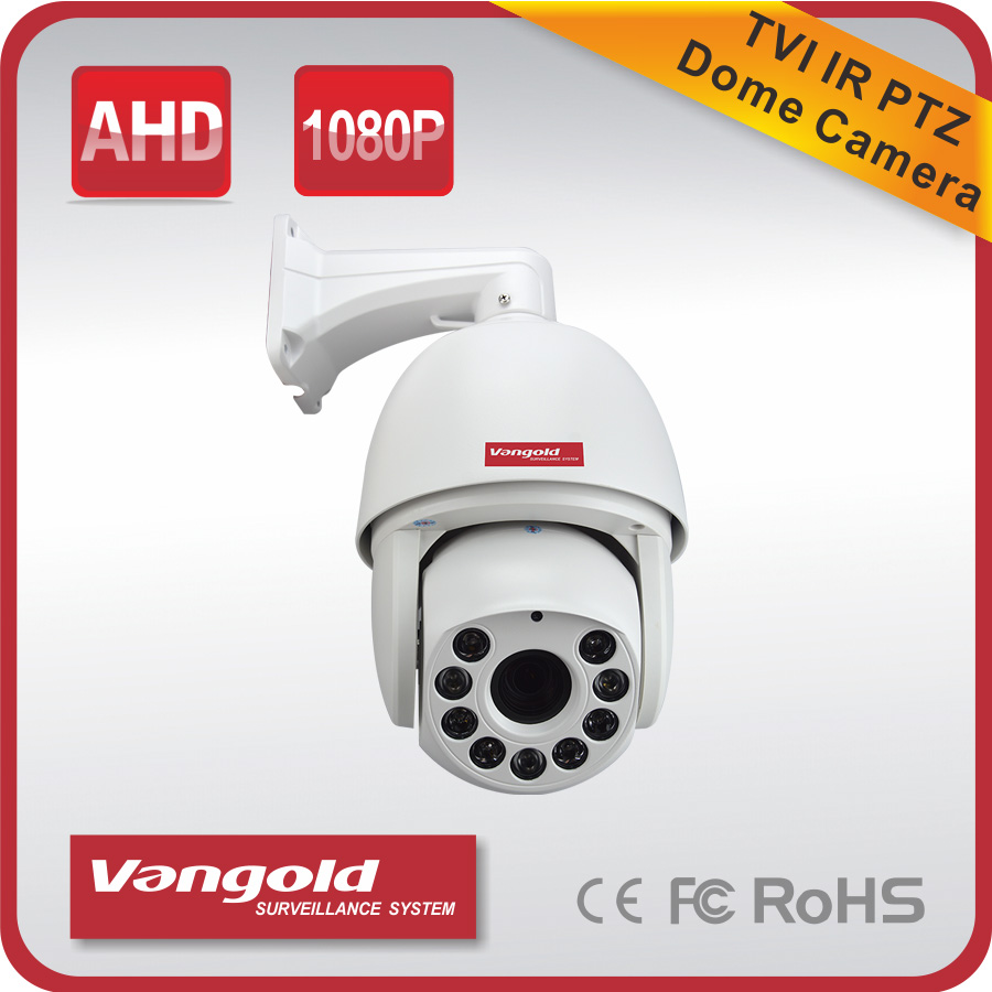 Speed Dome Camera TVI 2MP tvi ptz auto tracking,ptz with two way audio,ip video camera