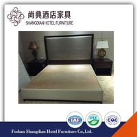 single cheap bed frame for hotel bedroom