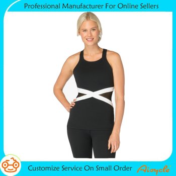 Spandex custom workout clothing sports wear yoga tank top