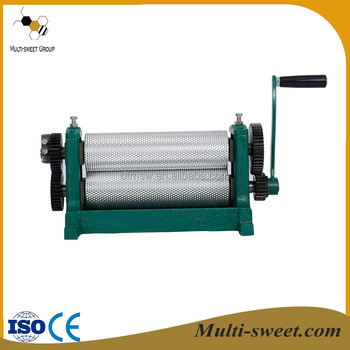 Top quality manual and electric beeswax machine