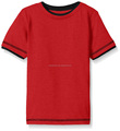 OEM Men's Double Crew Look T-Shirt Fashion Tee Short sleeve Tee 70% Cotton/30% Polyester T shirt