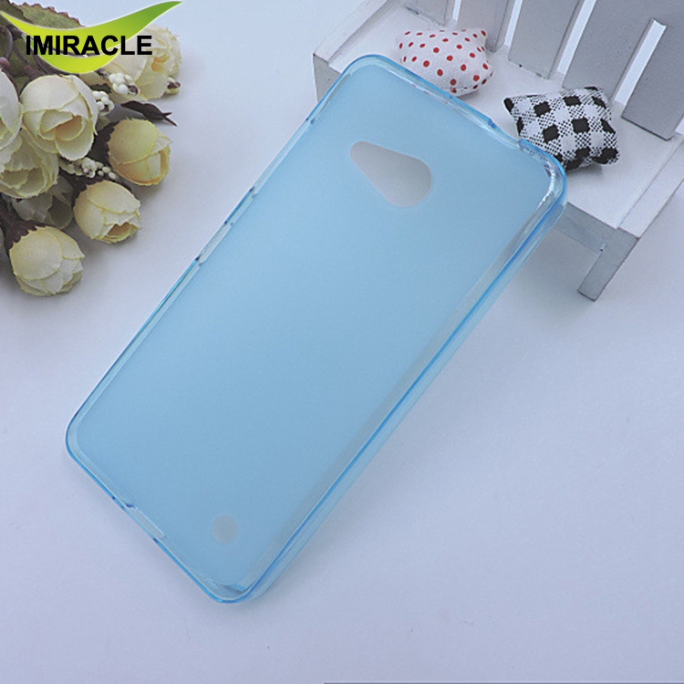 Best Selling Products Soft TPU Pudding Case For Nokia Lumia 550 Matte Silicone Cell Phone Back Cover