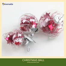 Popular Cleat GlassPlastic Christmas Balls