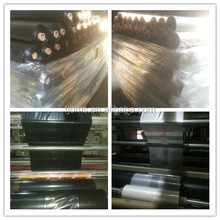 Plastic black/clear polyethylene sheeting for construction poly sheeting used in vapour barrier