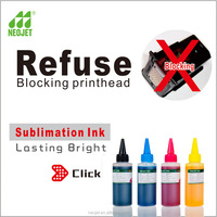 Compatible water based fabric dye ink for epson sublimate desktop printer ciss dye sublimation ink