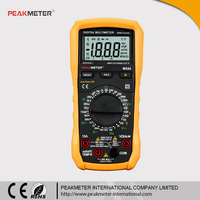 Profession Capacitance Temperature Tester Automotive 4000 Counts Digital Multimeter Model