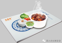 Commercial Electric Keep Food Warm Glass Hot Plate