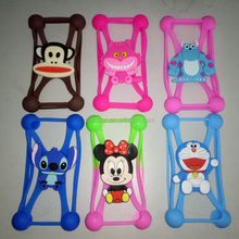 Customizable Fashion Silicone Universal Smart Phone Case/Cover factory