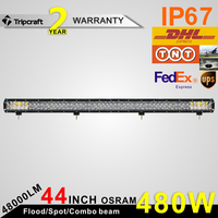 osram led bar, 12v osram ledbar, osram led rigid bar vs New Products Offroad Amber Roof car led light bar 600w