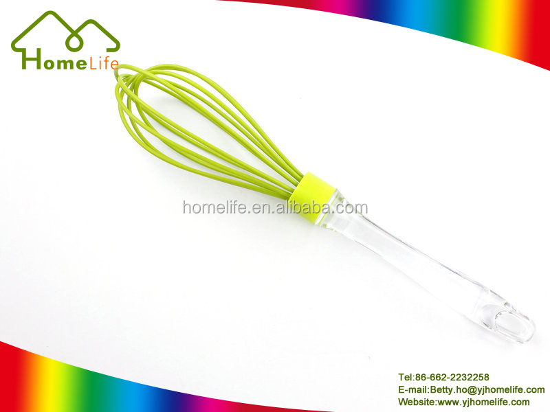 Kitchen utensil new design silicone function of egg beater egg whisk