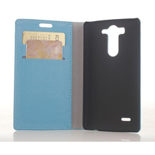 Wholesale Pu Leather Flip Cover for LG G3 mini Business Card Case