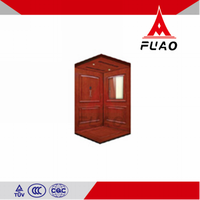 FUAO High quality three to five persons small glass elevator home