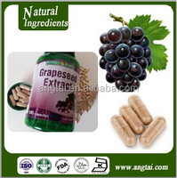 GMP pharmaceutical factory OEM or manufacture capsule or softgel capsule of Grape Seed Extract with 95% Proanthocyanidins OPC