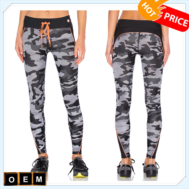 active wear women printed yoga leggings