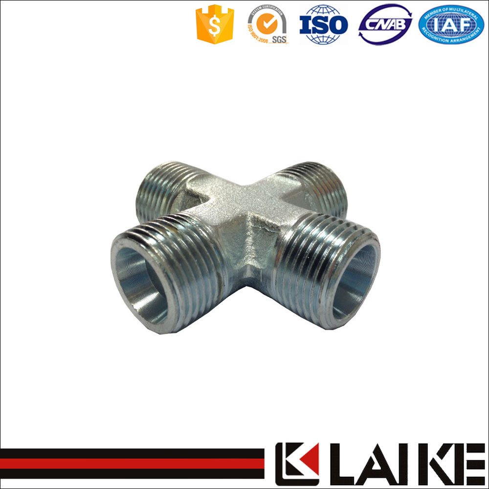 Carbon steel 4-way cross joint pipe fitting(XD)
